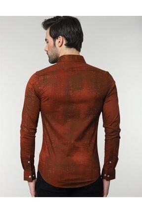 Tudors Slim Fit Likralı Spor Gömlek 2