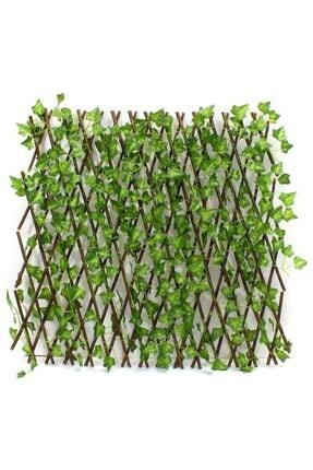 Nettenevime Yapay Çiçek Akordiyon Çit Yapay Sarmaşık lı Duvar Dekoru 210x90 cm 3