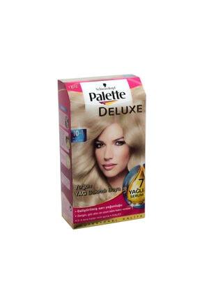 Palette Deluxe 10-1 Küllü Açık Sarı Saç Boyası 0