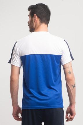 Slazenger Texas Erkek T-shirt Saks Mavi St10te143 4