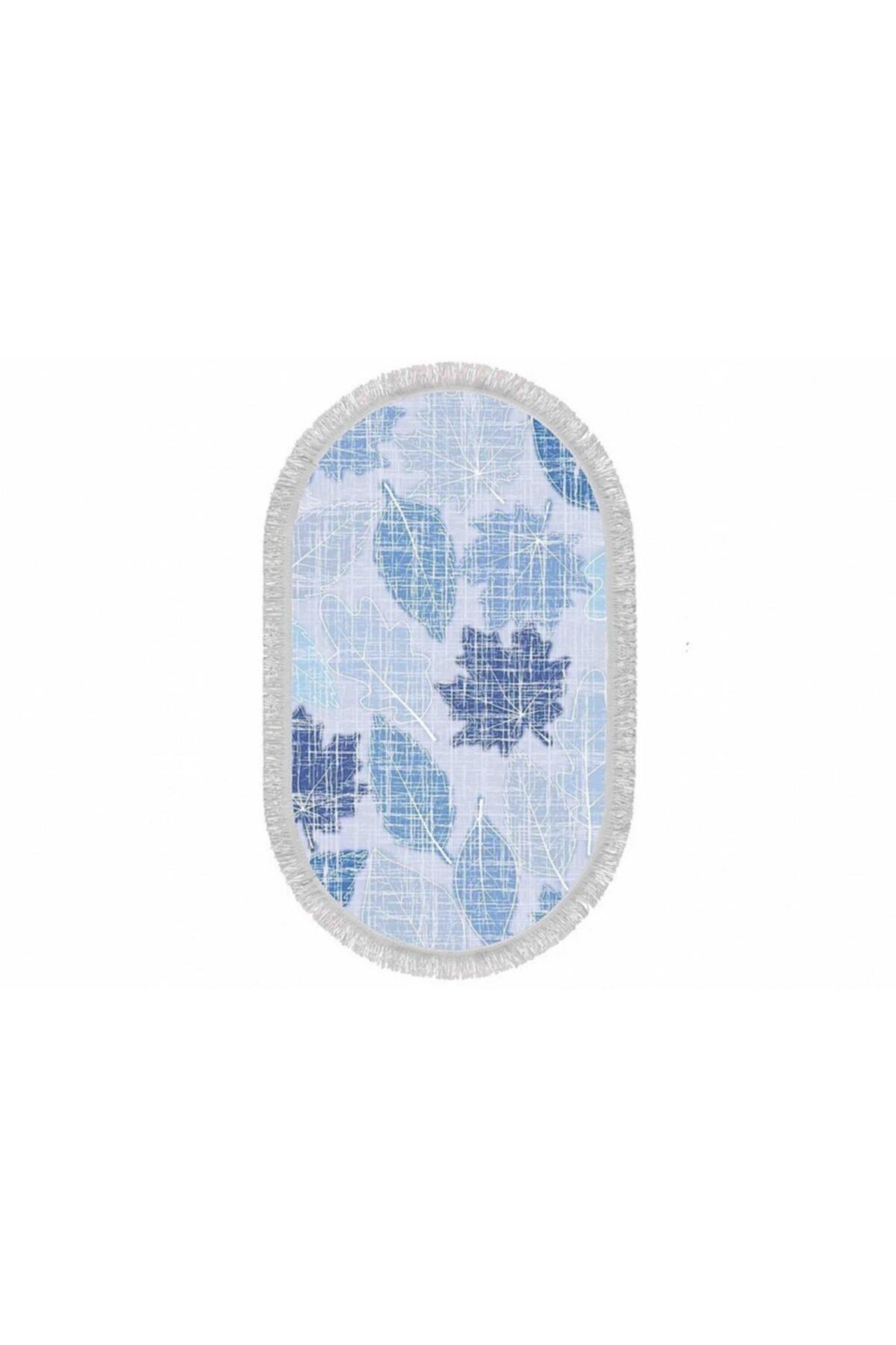 Home Textile Sempati Çınar Yaprağı Ince Saçaklı 60x100 Paspas