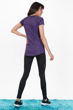 Runever Kadın Mor T-shirt 2