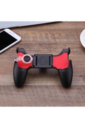 Fibaks Realme 5i Için Pubg Mobil Oyun Konsolu Aparatı Ateş Tetik Gamepad Joystick 5 In 1 Katlanabilir 3