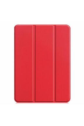 KNY Apple Ipad Pro 11 2020 Arkası Şeffaf Standlı Kapaklı Smart Case Kılıf 0