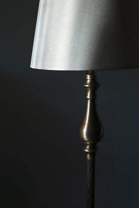 Vinner – Bronz Retro Burgulu Lambader Modern Başlık Rengi Hasır Kahve'dir. 1