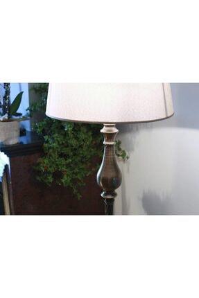 Vinner – Bronz Retro Burgulu Lambader Modern Başlık Rengi Hasır Kahve'dir. 2