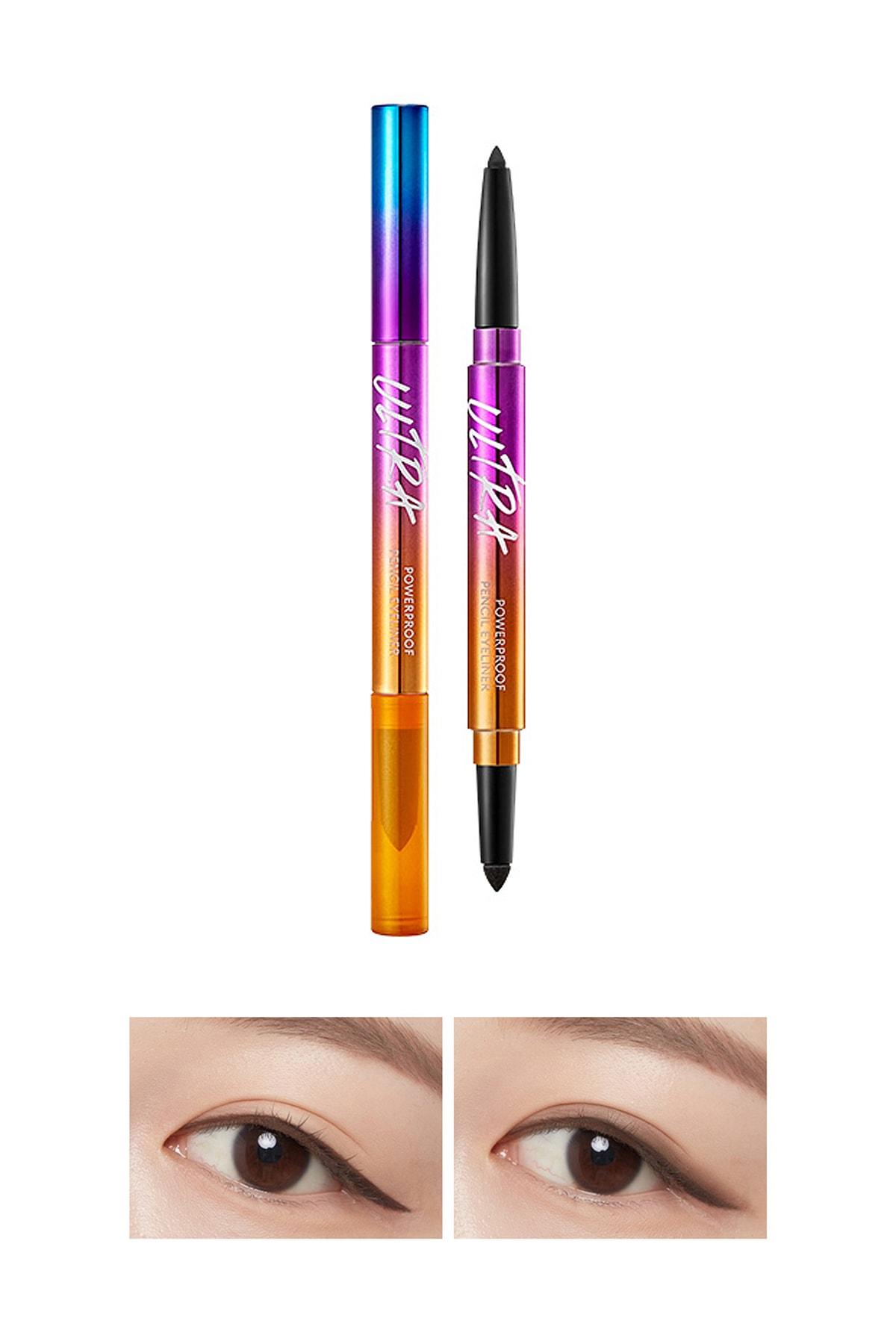 Missha Suya Dayanıklı Kalıcı Jel Göz Kalemi Ultra Powerproof Pencil Eyeliner Ash Brown 0