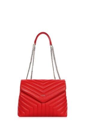 Cengiz Pakel Kadın Çanta Serenity 7266s-kırmızı 0
