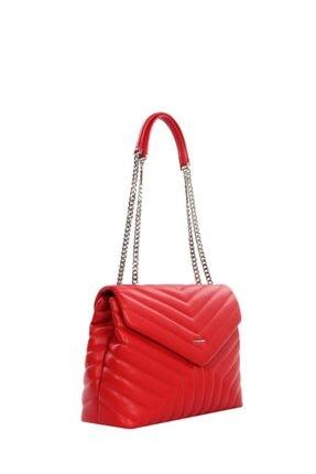 Cengiz Pakel Kadın Çanta Serenity 7266s-kırmızı 1