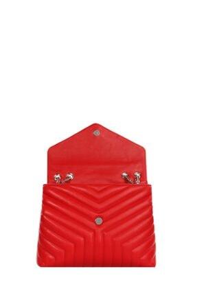 Cengiz Pakel Kadın Çanta Serenity 7266s-kırmızı 2