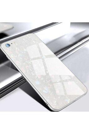 Zore Apple Iphone 6 Plus Kılıf Marbel Cam Silikon 1