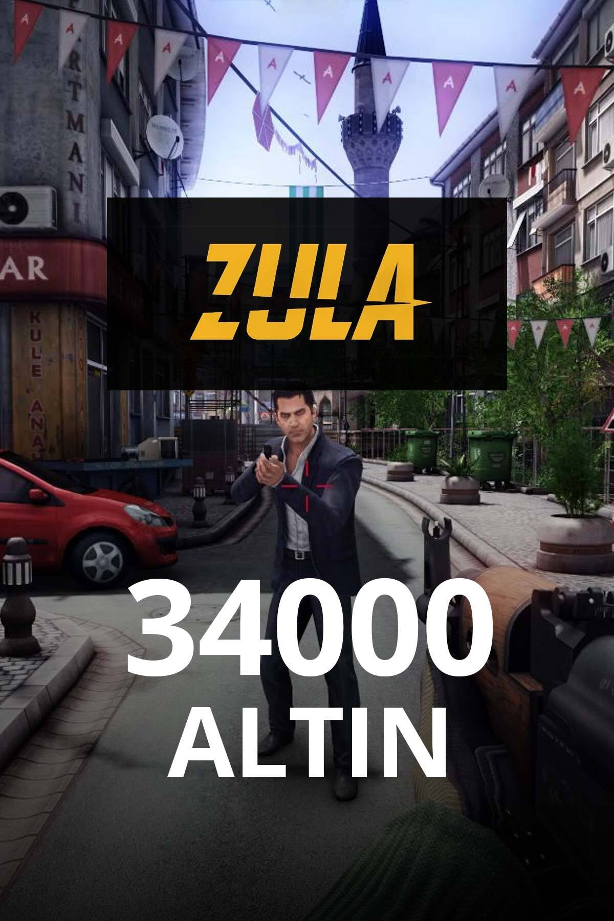 34.000 Zula Altın