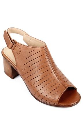 GÖNDERİ(R) Gön Hakiki Deri Kadın Sandalet 45627 3