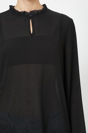 Koton Kadın Siyah Bluz 0YAK66150IW 3