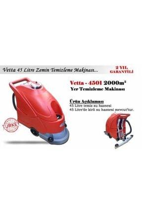 VETTA E 4501 Elektrikli Sert Zemin Temizleme Otomatı 2000 M2 0