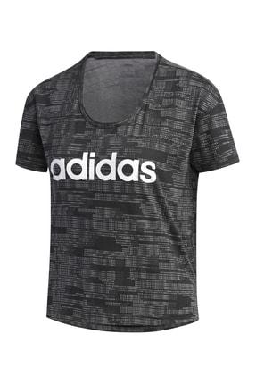 adidas Kadın T-Shirt -  W E Aop T  - FL0163 2