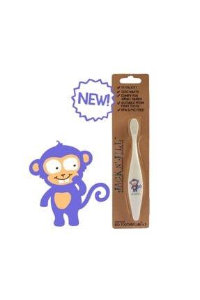 Jack N'Jill Diş Fırçası Monkey 0