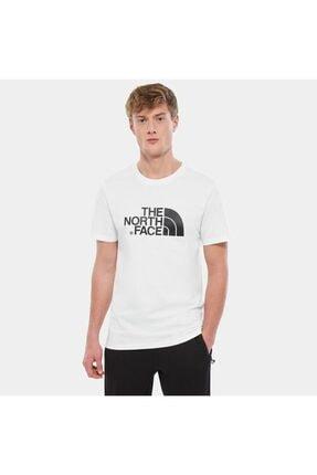 The North Face Erkek Beyaz Sıfır Yaka Tişört 0