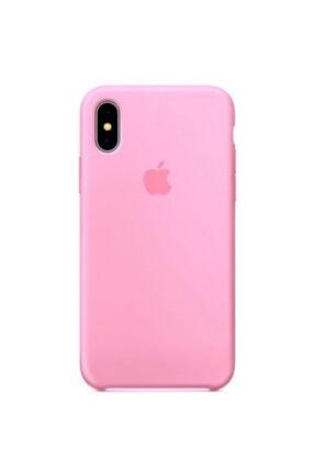 Ebotek Apple Iphone Xs Max Kılıf Silikon Içi Kadife Lansman Pembe 0