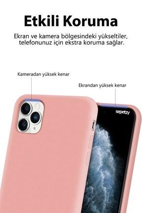 sepetzy Apple Iphone Xs Kılıf Pastel Içi Kadife Liquid Candy Flat Kapak - Siyah 4