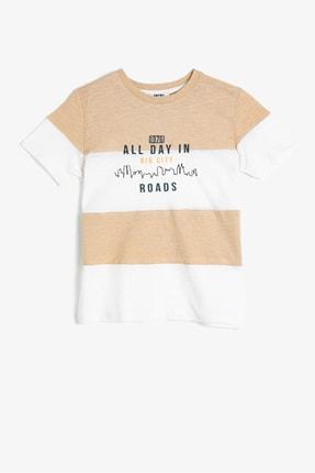 تصویر از Bej Erkek Çocuk T-Shirt