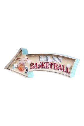 EVİMTATLIEVİM Basketball Led Işıklı Metal Tabela 41 Cm 0