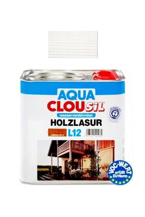 Clou L12 Su Bazlı Renkli Kokusuz Ahşap Koruyucu No 17 Beyaz 2,5 Lt 0