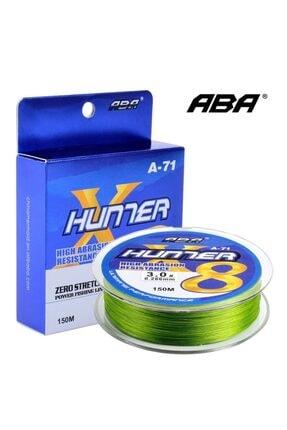 ABA Hunter 8x 8 Kat Örgü Ip Misina 150 Mt 1.0 Numara: 0.16mm 1