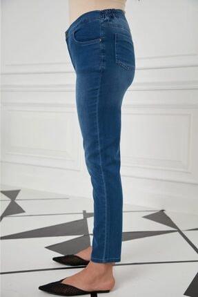 Rmg Büyük Beden Dar Paça Bayan Kot Pantolon 1