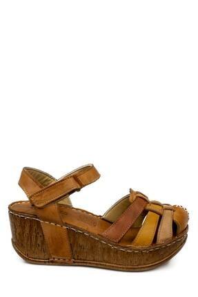 CONSUELO 1430 Yüksek Taban Ön Kapali Taba Kadın Sandalet 1