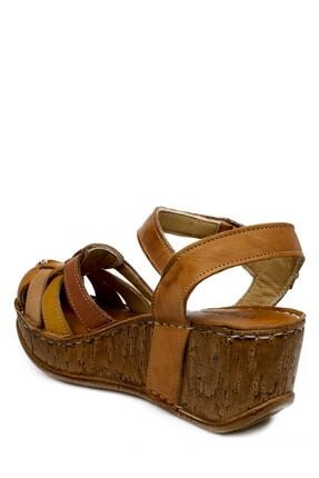 CONSUELO 1430 Yüksek Taban Ön Kapali Taba Kadın Sandalet 3