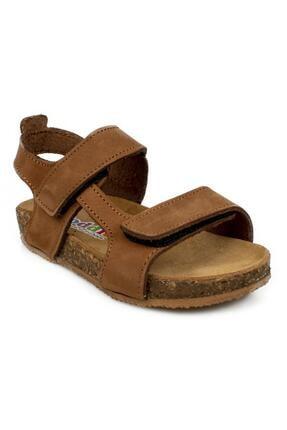 Toddler 4685 B Çift Cırt Tarçın Çocuk Sandalet 0