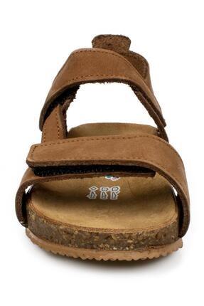Toddler 4685 B Çift Cırt Tarçın Çocuk Sandalet 2