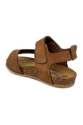 Toddler 4685 B Çift Cırt Tarçın Çocuk Sandalet 3
