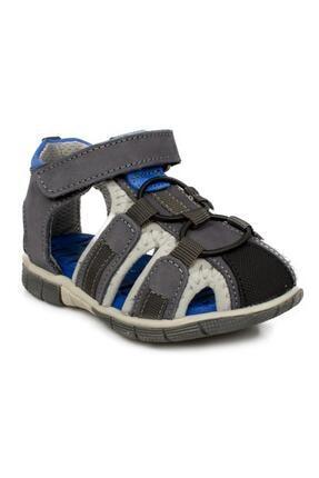 Toddler 7006b Tek Cırt Gri Çocuk Sandalet 0