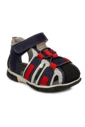 Toddler 7006b Tek Cırt Lacivert Çocuk Sandalet 0
