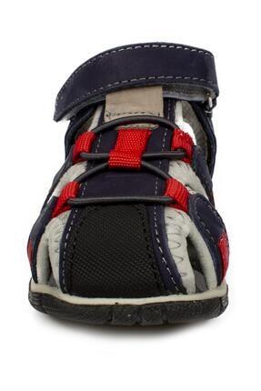 Toddler 7006b Tek Cırt Lacivert Çocuk Sandalet 2