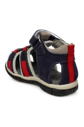 Toddler 7006b Tek Cırt Lacivert Çocuk Sandalet 3