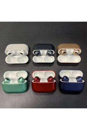 LETANG Airpods Pro Bluetooth 5.1 Kulaklık Apple Iphone Android Uyumlu Bluetooth Kulaklık-kırmızı 1