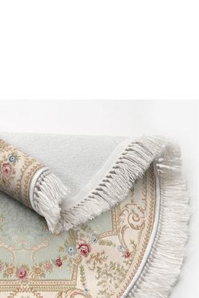 Alanur Home Dekoreko Dijital Saçaklı Oval Klozet Takımı 1800 Desen 4 2