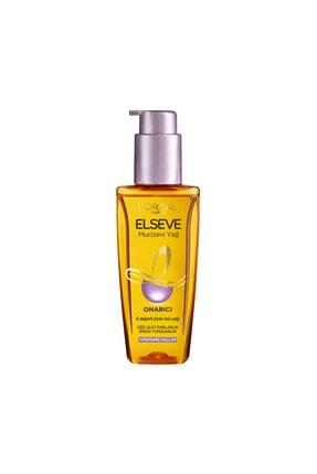 Elseve Yıpranmış Saçlar için Mucizevi Saç Bakım Yağı 100 ml 1