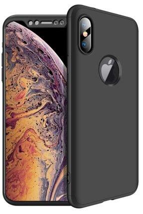 Apple Iphone Xs Max Kılıf 360 Tam Koruma Kapak 3 Parça Slim Fit 0