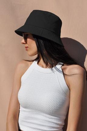 Mozto Siyah Bucket Şapka 0