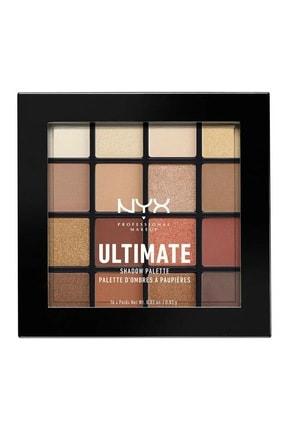 NYX Professional Makeup Göz Farı Paleti - Ultimate Shadow Pallette Warm Neutrals 0