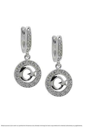 Çağrı Gümüş Gümüş Ayyıldız Temalı Üçlü Set Takı 2