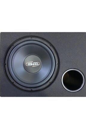 bm audio Boschmann Bm Audıo Bm-1214 1000 Watt 30cm Subwoofer Kabinli Bas 0
