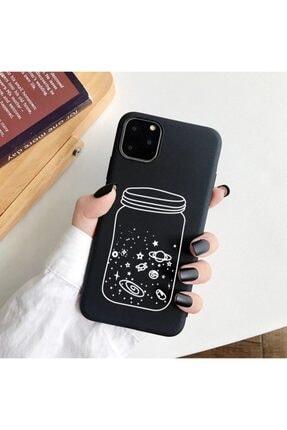 Mobildizayn Galaxy A8 2018 Gökyüzü Ve Gezegen Desenli Kılıf 0