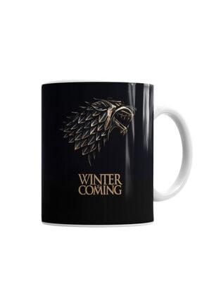 Baskı Dükkanı Game Of Thrones Wınter Is Comıng Kupa Bardak Porselen 0