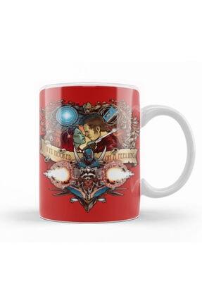 Baskı Dükkanı Guardians Of The Galaxy Hooked On A Feeling Kupa Bardak Porselen 0