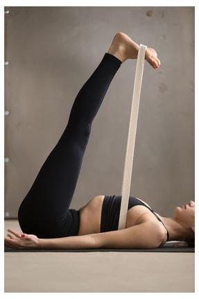 Svava Yoga Kemeri, Organik Pamuk Yoga Kayışı (boyasız) 1